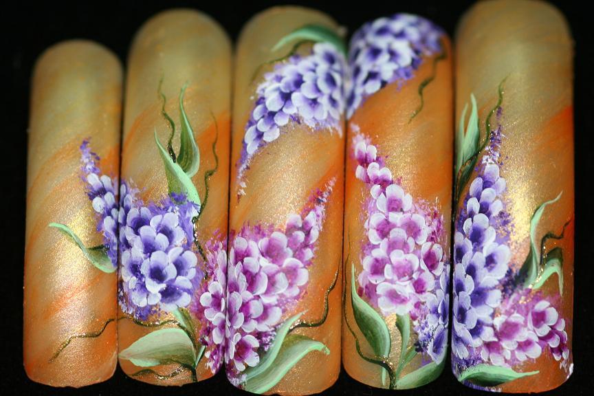 Какими красками рисуют китайскую роспись ногтей
