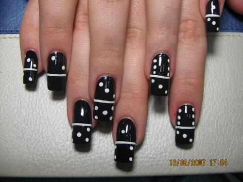 Простейший дизайн ногтей фото