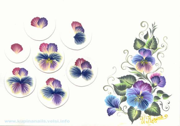 Как рисовать цветы фото