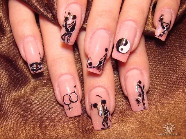 Дерзкие дизайны ногтей